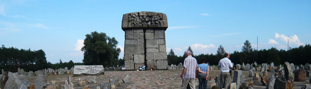 トレブリンカ強制収容所跡地(ポーランド)