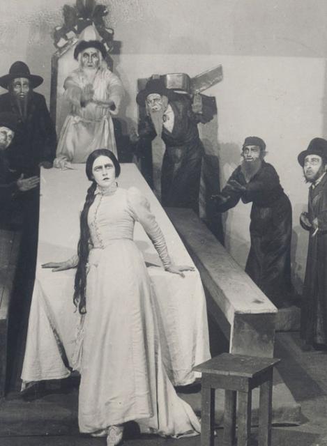 Y・ワフタンゴフ演出によるヘブライ語劇団「ハビマ座」の初演(1922年1月31日、モスクワ)